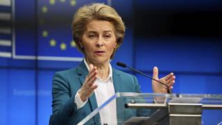 Oύρσουλα φον ντερ Λάιεν: Δικαιολογημένες οι επιφυλάξεις Γερμανίας για το κορωνο-ομόλογο