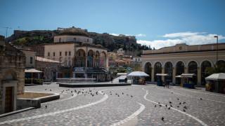 Απαγόρευση κυκλοφορίας: Η έρημη Αθήνα του κορωνοϊού