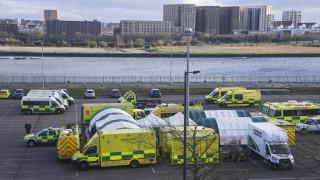 Κορωνοϊός: Αυξάνονται οι νεκροί στη Βρετανία - Μετατρέπουν εκθεσιακό κέντρο σε νοσοκομείο
