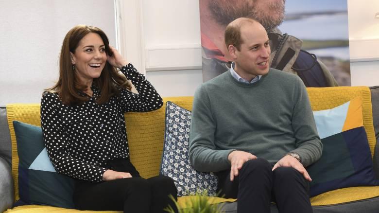 Κορωνοϊός - Βρετανία: Πρίγκιπας Ουίλιαμ και δούκισσα Κέιτ εστιάζουν στη ψυχική υγεία
