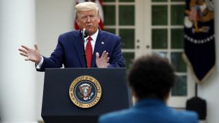 Κορωνοϊός στις ΗΠΑ: Οι θάνατοι πιθανόν θα κορυφωθούν σε δύο εβδομάδες σύμφωνα με τον Τραμπ
