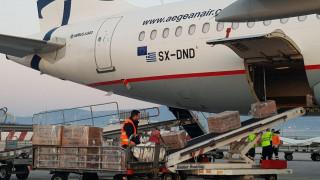 Κορωνοϊός: Φθάνει στην Αθήνα η μεγαλύτερη προμήθεια υγειονομικού υλικού