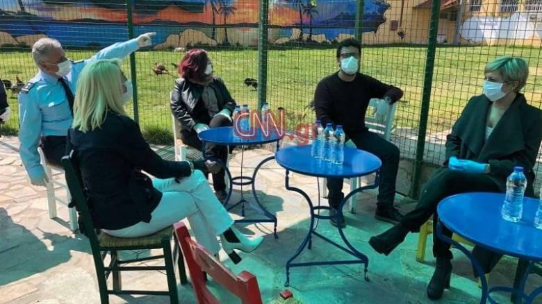 Νικολάου στο CNN Greece: Δίνουμε έναν μεγάλο αγώνα και θα διασφαλίσουμε την υγεία των κρατουμένων