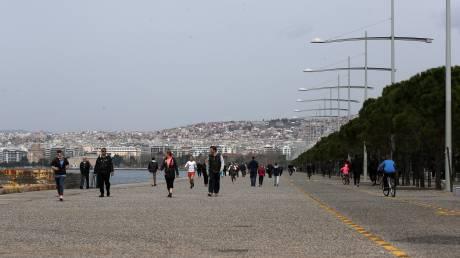 Θεσσαλονίκη: Παρέμβαση Ζέρβα για τις βόλτες των πολιτών - Πιθανό το κλείσιμο της νέας παραλίας