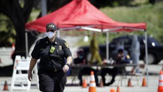 Κορωνοϊός – Καλιφόρνια: Διπλασιάστηκαν οι εισαγωγές στα νοσοκομεία μέσα σε τέσσερις ημέρες