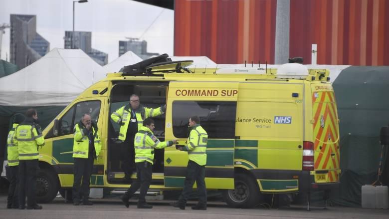 Κορωνοϊός: Αρνητικό ρεκόρ θανάτων στη Βρετανία - 563 νεκροί το τελευταίο 24ωρο