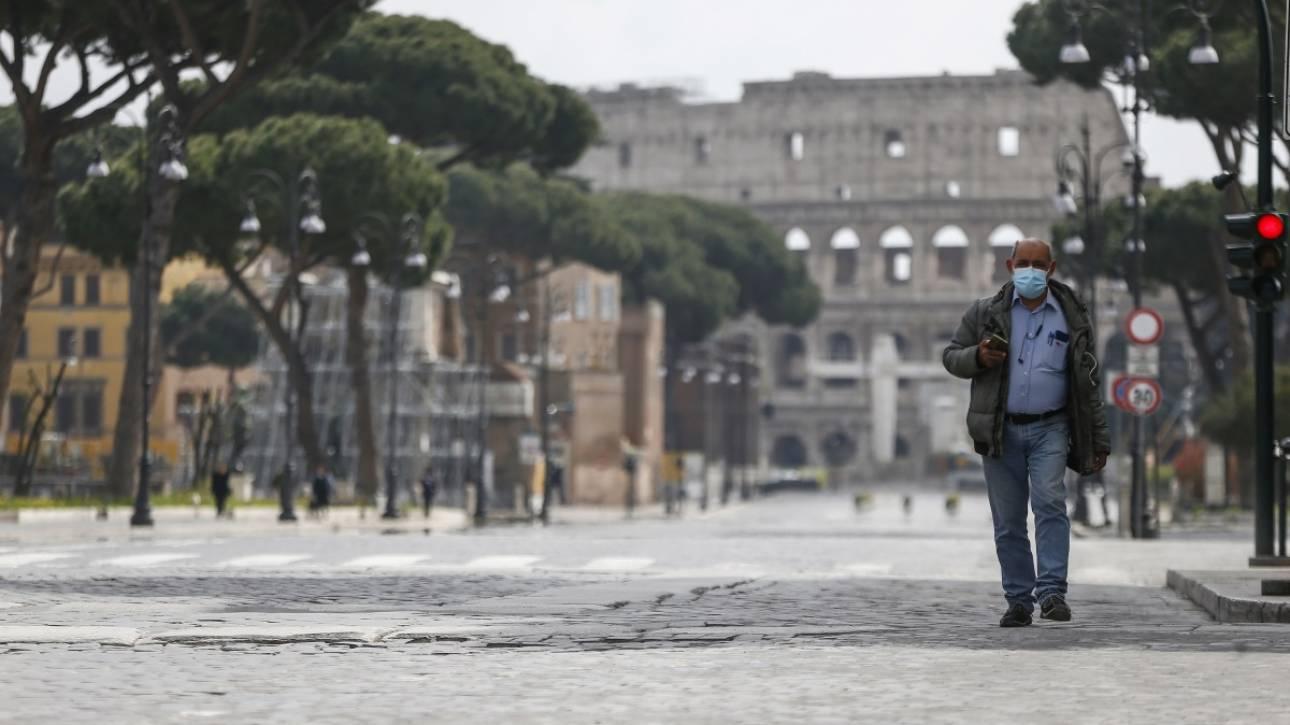 Κορωνοϊός: Παράταση των περιοριστικών μέτρων στην Ιταλία