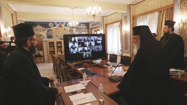 Ιερά Σύνοδος: Κεκλεισμένων των θυρών οι ιερές ακολουθίες τη Μεγάλη Εβδομάδα και το Πάσχα
