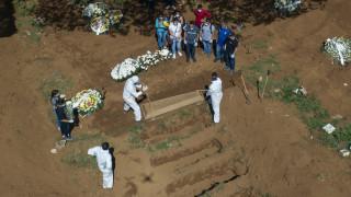 Κορωνοϊός στη Βραζιλία: 240 νεκροί και 6.836 κρούσματα από τον ιό COVID-19