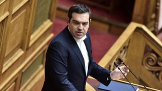 Τσίπρας στη Βουλή: Στηρίζουμε δεν σημαίνει σιωπούμε - Θα κριθούμε όλοι για όλα