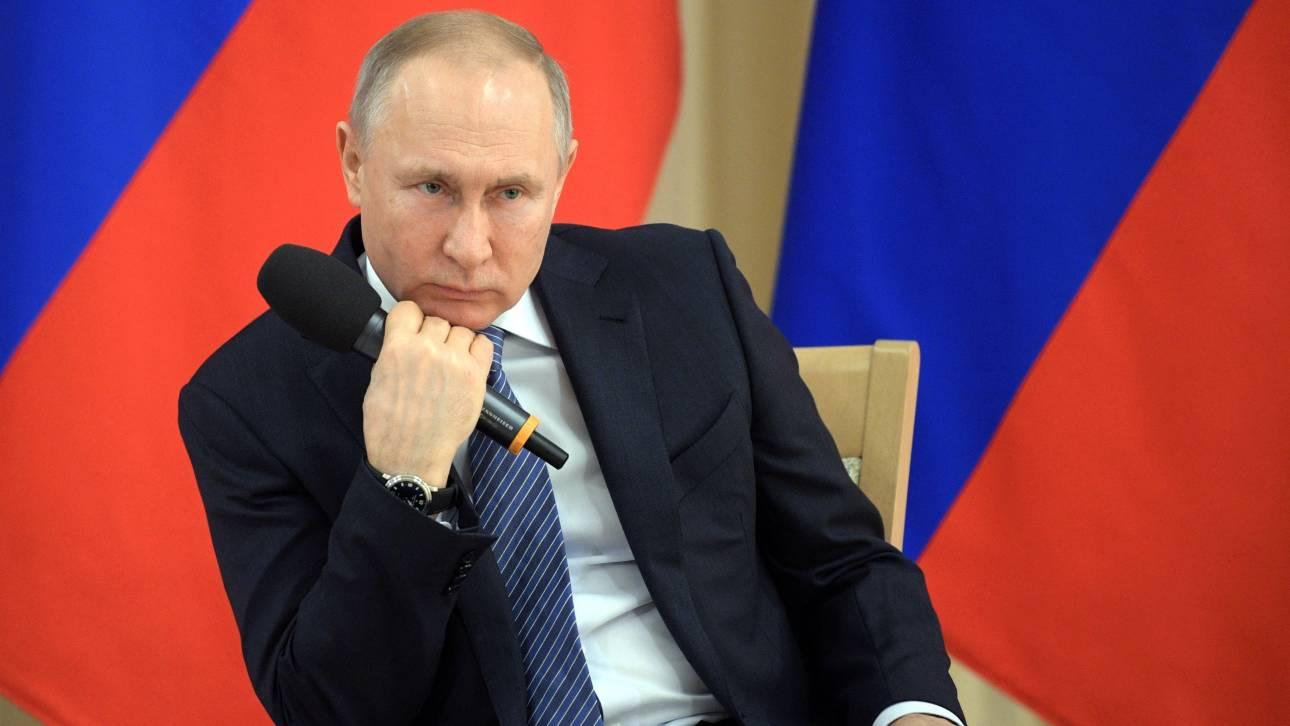 Ρωσία: Δεύτερο διάγγελμα Πούτιν στον ρωσικό λαό μέσα σε 10 ημέρες