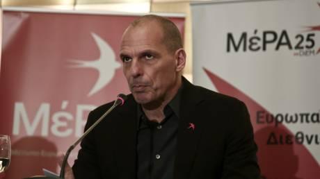 Απείχε από τη συζήτηση της Βουλής ο Βαρουφάκης - Ζητά συνεδριάσεις με τηλεδιάσκεψη