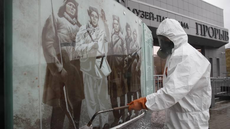 Κορωνοϊός - Ρωσία: Παρατείνεται η μη εργάσιμη περίοδος με καταβολή μισθού ως 30 Απριλίου