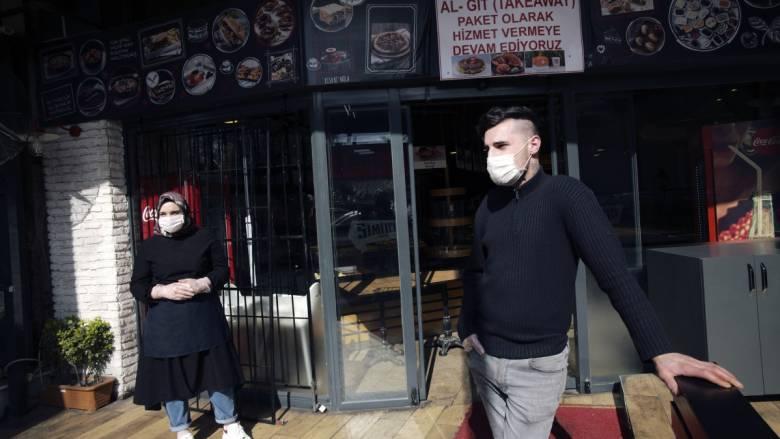 Κορωνοϊός: 77 νεκροί στην Τουρκία το τελευταίο 24ωρο - 18.135 τα κρούσματα στη χώρα