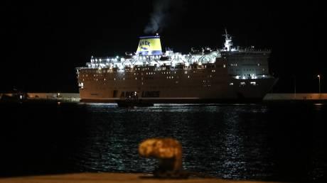 Κορωνοϊός: Κατέπλευσε στο λιμάνι του Πειραιά το «Ελευθέριος Βενιζέλος»