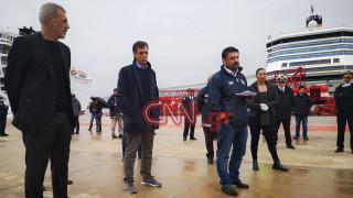 Χαρδαλιάς για το πλοίο «Ελευθέριος Βενιζέλος»: Δεν θα γυρίσει κανείς στην πατρίδα του