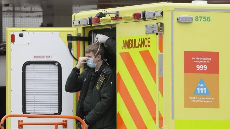 Κορωνοϊός: 684 νεκροί στη Βρετανία το τελευταίο 24ωρο