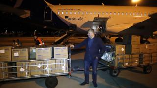 Κορωνοϊός: Η Περιφέρεια Αττικής και ο ΙΣΑ παρέλαβαν 1.200.000 μάσκες από την Κίνα