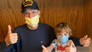 Το μήνυμα ενός 95χρονου βετεράνου του Β' Παγκοσμίου Πολέμου που νίκησε τον κορωνοϊό