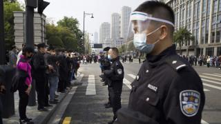 Η Κίνα τίμησε τα θύματα του κορωνοϊού
