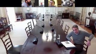 Τηλεδιάσκεψη Μητσοτάκη με τους συντονιστές εθελοντικής ομάδας για τον κορωνοϊό