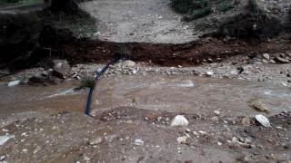 Προβλήματα στη Χαλκιδική εξαιτίας της κακοκαιρίας - Πλημμύρισαν δρόμοι και σπίτια