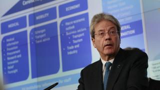 Δημιουργία ευρωπαϊκού ταμείου για έκδοση «κορονο-ομολόγων» ζητούν Μπρετόν και Τζεντιλόνι