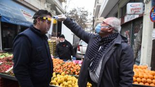 Κορωνοϊός: Νέα μέτρα προστασίας σε λαϊκές αγορές στη Θεσσαλονίκη