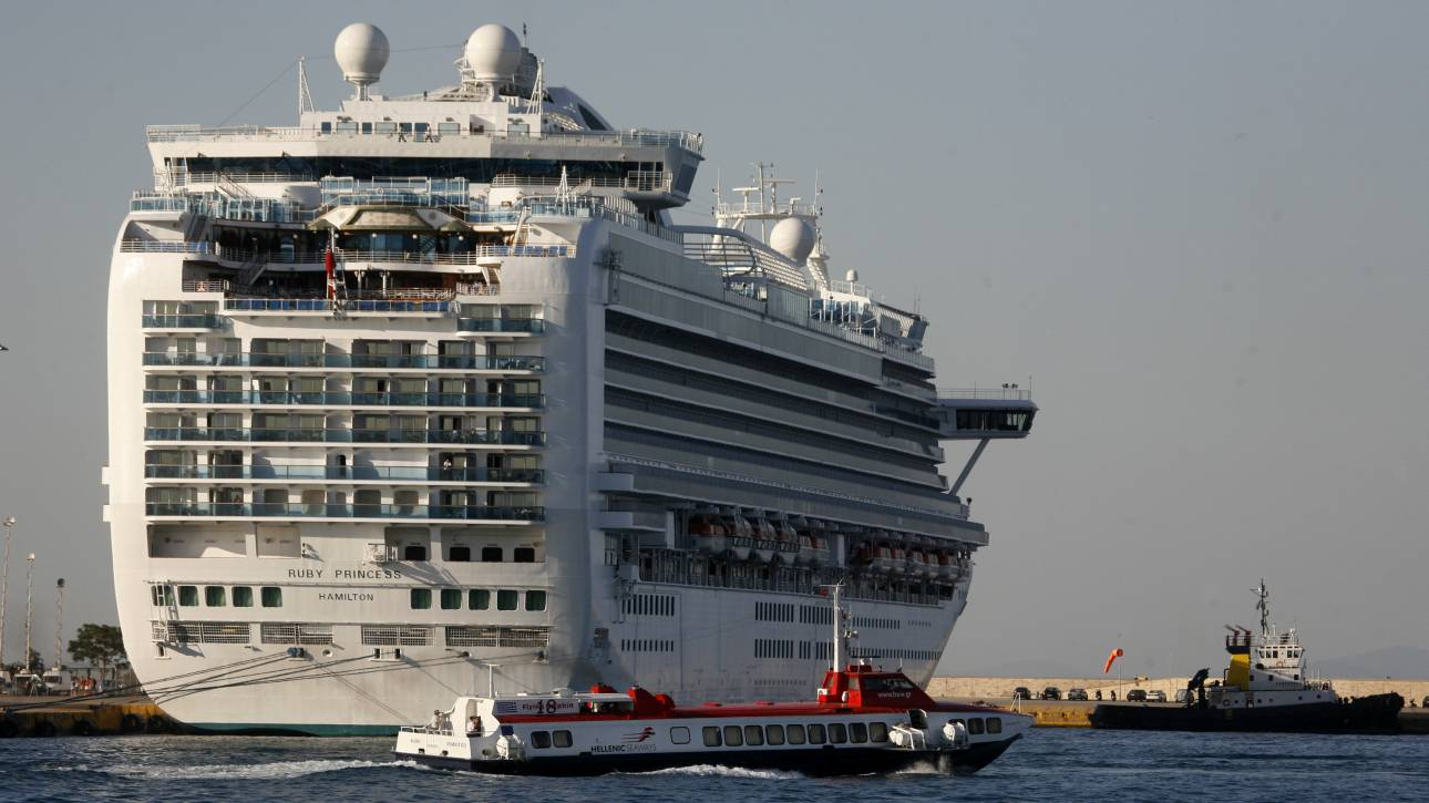 Κορωνοϊός: Το κρουαζιερόπλοιο Ruby Princess έδεσε κοντά στο Σίδνεϊ
