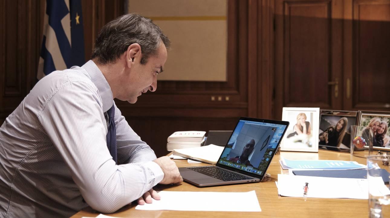 Κορωνοϊός - Μητσοτάκης: Το ΕΚΑΒ εργάζεται αποτελεσματικά υπό πολύ δύσκολες συνθήκες