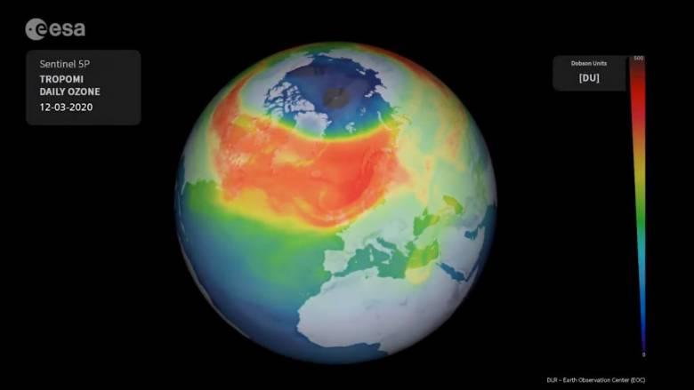 Αρκτική: Επιστήμονες ανακάλυψαν τρύπα του όζοντος στο Βόρειο Πόλο