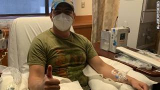 Ένας άνδρας ανάρρωσε από τον κορωνοϊό – Και τώρα ίσως σώσει τη ζωή άλλων ασθενών