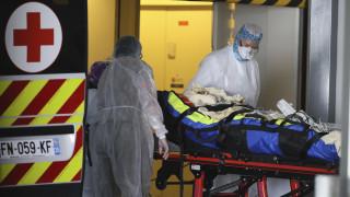 Κορωνοϊός - Γαλλία: Συνολικά 1.427 νεκροί μέσα σε ένα εικοσιτετράωρο