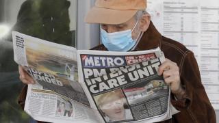 Βρετανία: Δεύτερη νύχτα στην εντατική για τον Μπόρις Τζόνσον  - Φόβοι για «κενό εξουσίας»