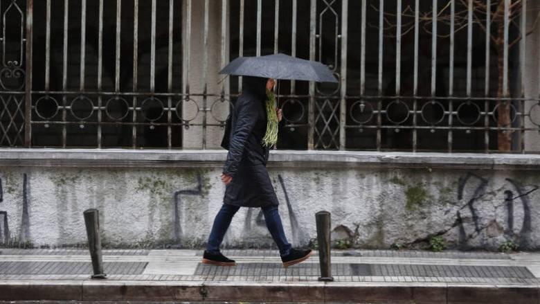 Καιρός: Συννεφιά και βροχές σήμερα - Μικρή άνοδος της θερμοκρασίας
