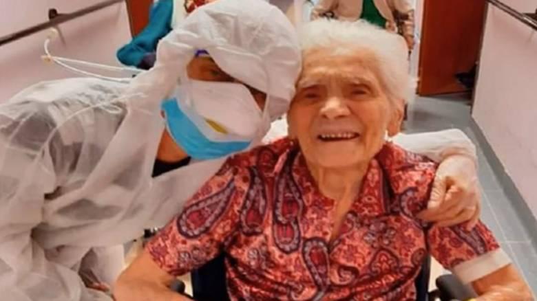 Κορωνοϊός - Ιταλία: Γιαγιά 103 χρονών νίκησε τον ιό!