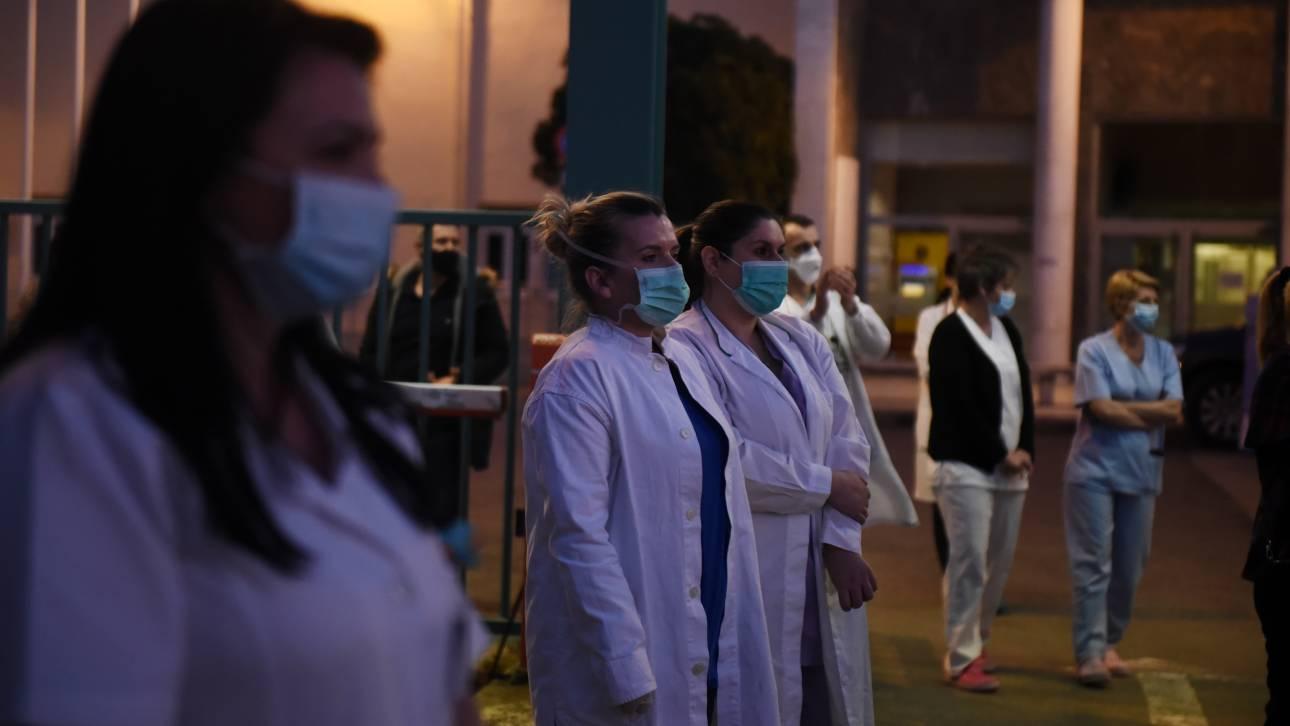 Κορωνοϊός: Απόφαση επιτροπής εμπειρογνωμόνων για τα μέτρα προστασίας των επαγγελματιών Υγείας