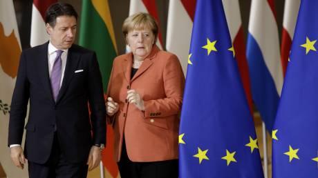 Η ευρωζώνη εμφανίζει σοβαρά συμπτώματα κορωνοϊού