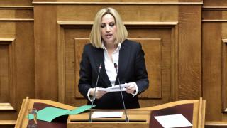 Κορωνοϊός - Γεννηματά: Προτάσεις του ΚΙΝ.ΑΛ. για την προστασία των μικρομεσαίων επιχειρήσεων