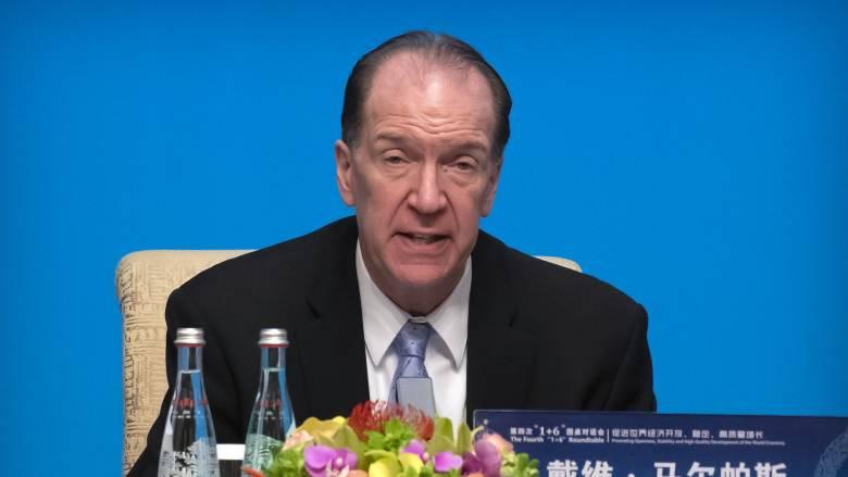 Αισιόδοξος για τις προοπτικές ελάφρυνσης χρέους των φτωχών χωρών ο πρόεδρος της Παγκόσμιας Τράπεζας