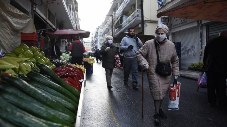 Κορωνοϊός: Διπλασιάστηκαν οι λαϊκές αγορές στην Αττική - Αναλυτικά η λίστα