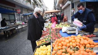 Κορωνοϊός - Χαρδαλιάς: Διπλασιάζονται από τη Δευτέρα οι λαϊκές αγορές στην Αττική