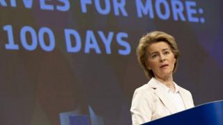 «Να μην κλείσουν ακόμη διακοπές» συμβουλεύει τους Ευρωπαίους η Ούρσουλα φον ντερ Λάιεν
