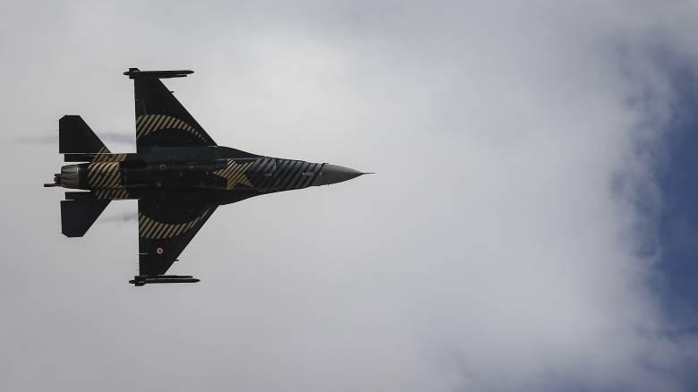 Τουρκικών προκλήσεων συνέχεια: Υπερπτήσεις F-16 πάνω από Μυτιλήνη, Χίο, Παναγιά και Οινούσες