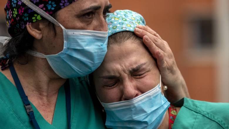 Κορωνοϊός – Ισπανία: Στους 16.972 ο συνολικός αριθμός των νεκρών