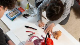 Το Ίδρυμα Β&Ε Γουλανδρή καλεί τα παιδιά να δημιουργήσουν έργα τέχνης στο σπίτι
