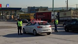 Κορωνοϊός - Απαγόρευση κυκλοφορίας: Εντατικοί έλεγχοι στα διόδια Καπανδριτίου