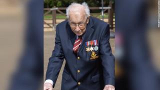Κορωνοϊός: 99χρονος συγκέντρωσε 2.5 εκατ. για τα νοσοκομεία της Βρετανίας… περπατώντας
