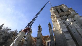 Ένα χρόνο μετά την πυρκαγιά, ο κορωνοϊός έβαλε «φρένο» στην αποκατάσταση της Παναγίας των Παρισίων