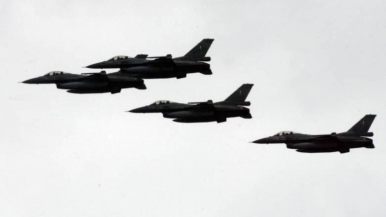 Νέες υπερπτήσεις τουρκικών F-16 πάνω από νησιά του Αιγαίου